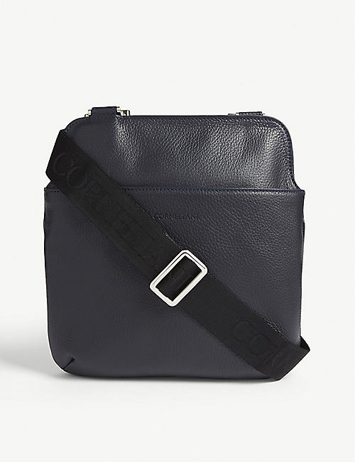 CORNELIANI Leather cross-body bag