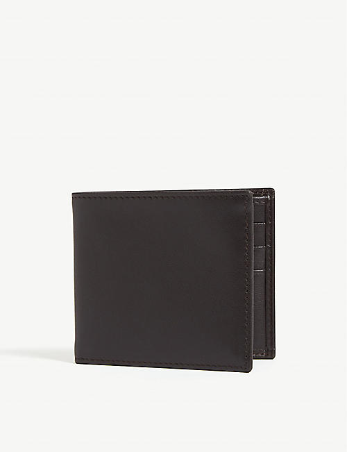 CORNELIANI Leather billfold wallet