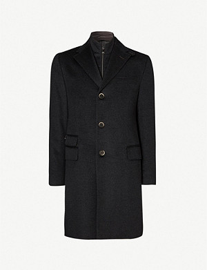 CORNELIANI ID wool overcoat