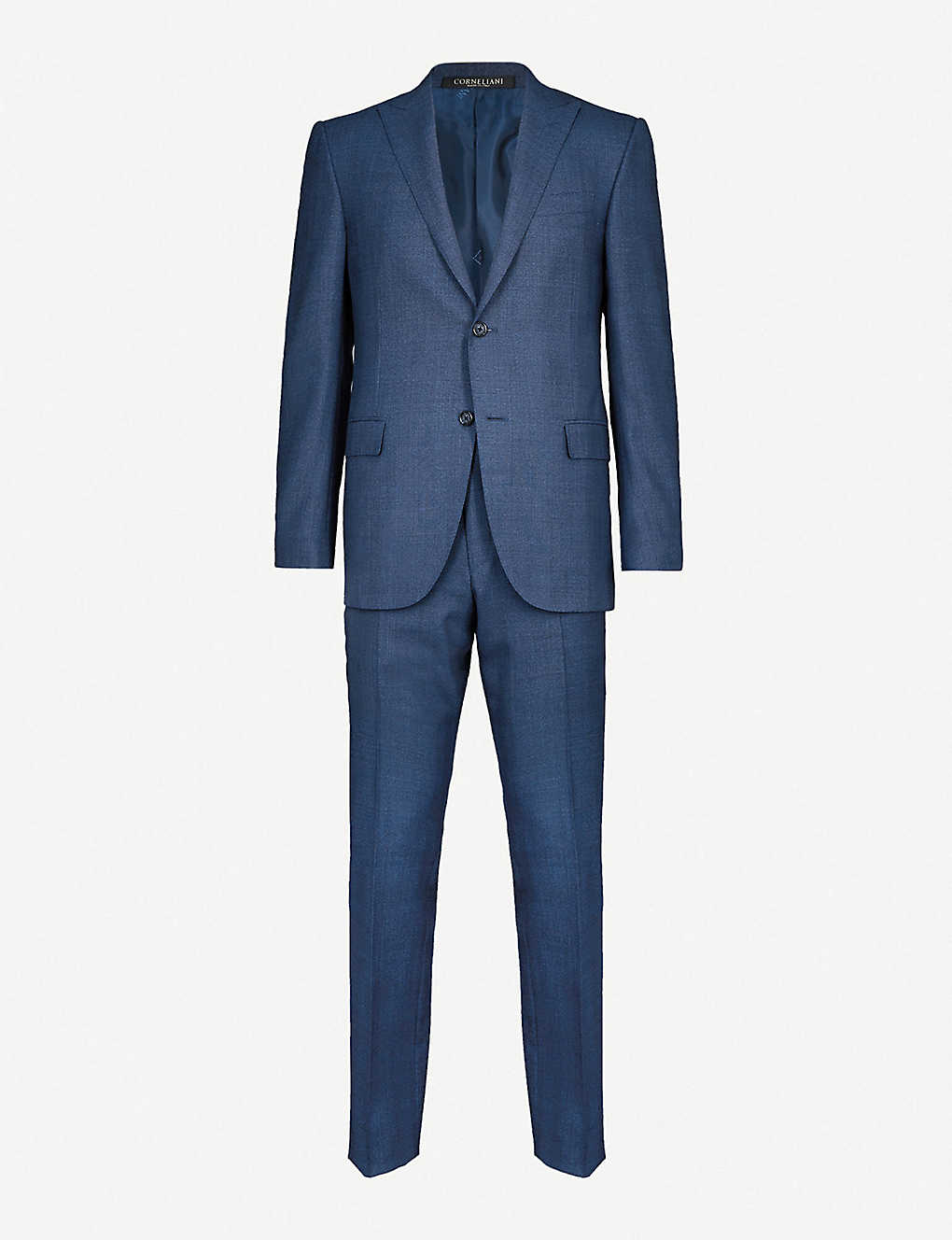 ead9b2876d184f CORNELIANI - Prince of wales check academy-fit wool suit | Selfridges.com