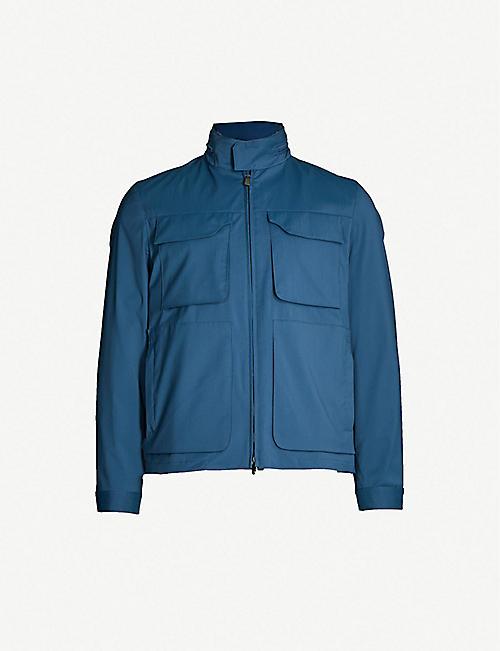 7983aca83 CORNELIANI Wool-blend shell jacket