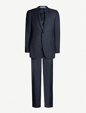 CORNELIANI Academy-fit virgin wool suit