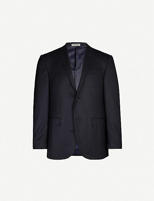 CORNELIANI Single-breasted regular-fit wool blazer