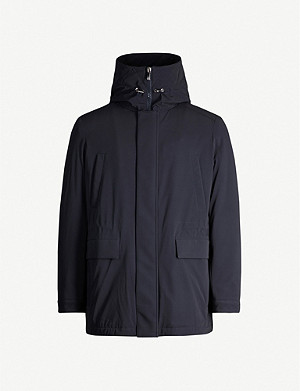 CORNELIANI Hooded shell jacket