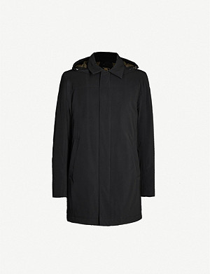 CORNELIANI Padded shell parka jacket