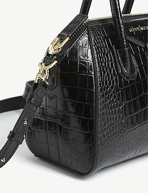 GIVENCHY Antigona leather mini tote