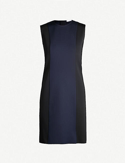 b520f2f43c3 GIVENCHY Bicolour crepe dress