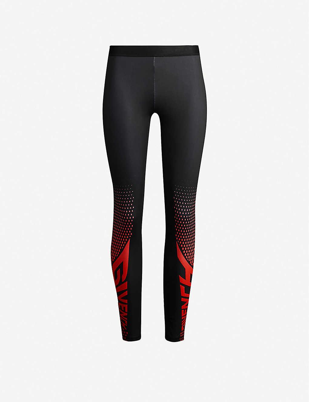 50cc3e54d8b84 GIVENCHY - Logo-print stretch-jersey leggings | Selfridges.com