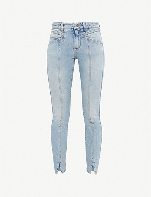 GIVENCHY Skinny mid-rise jeans