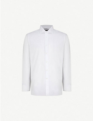 CANALI: Regular-fit cotton shirt