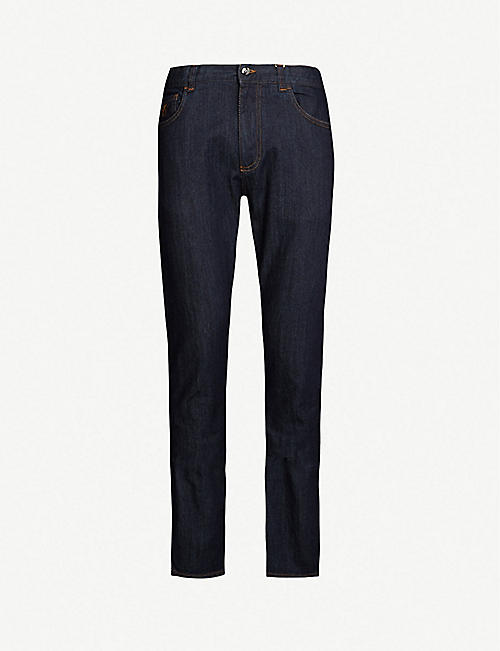 CANALI Regular-fit straight-leg jeans