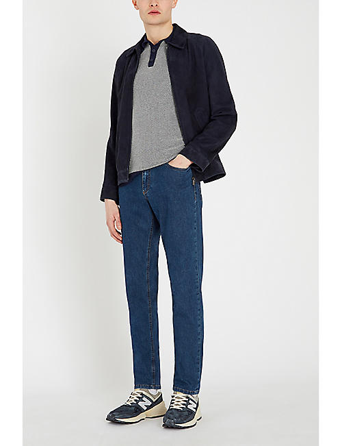 CANALI Regular-fit tapered jeans