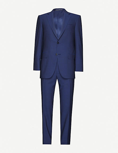 CANALI: Single-breasted wool suit