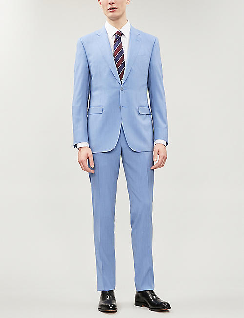 CANALI Slim-fit wool suit