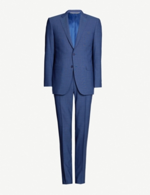 CANALI Impeccable slim-fit wool three-piece suit