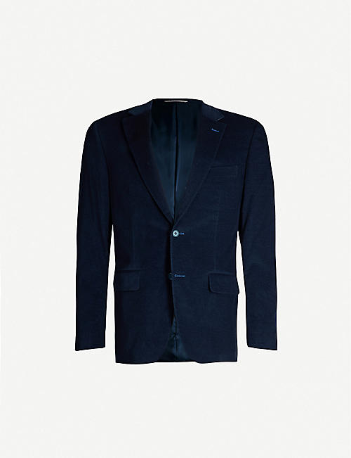 CANALI Regular-fit stretch-cotton corduroy blazer