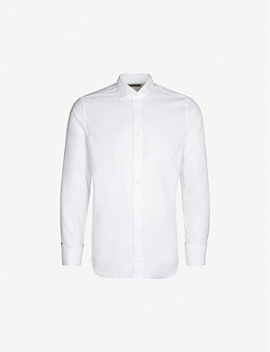CANALI Modern-fit cotton shirt