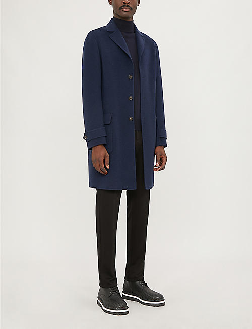 CANALI Mock turtleneck wool jumper