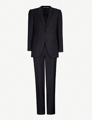 CANALI Regular-fit wool-twill suit