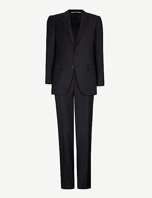 CANALI: Regular-fit wool-twill suit