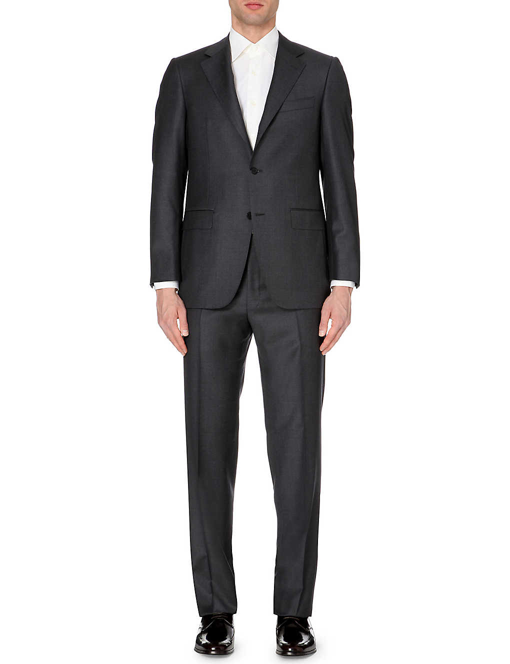 CANALI: Regular-fit wool suit