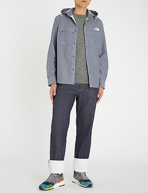 JUNYA WATANABE Junya Watanabe x The North Face cotton-blend jacket