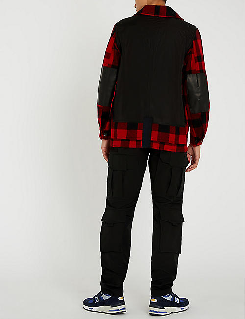 JUNYA WATANABE Checked wool jacket