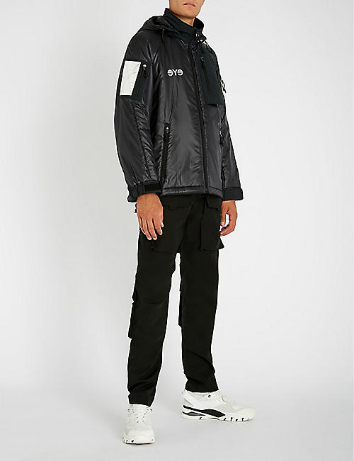 JUNYA WATANABE Hooded padded shell jacket