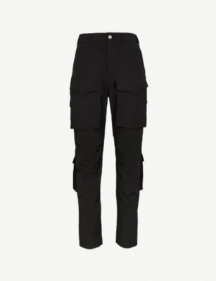 JUNYA WATANABE Pocket-detail regular-fit shell trousers