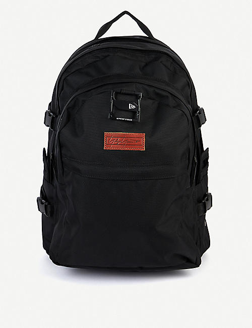 YOHJI YAMAMOTO New Era logo-embroidered canvas backpack