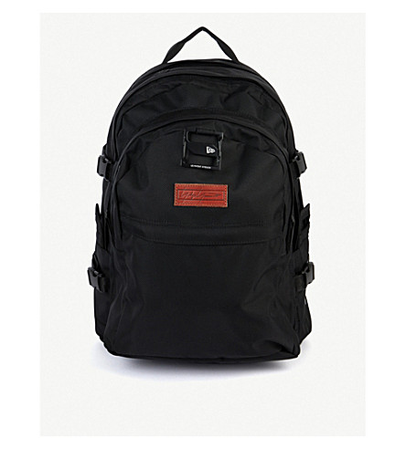 Yohji Yamamoto Backpacks New Era logo-embroidered canvas backpack