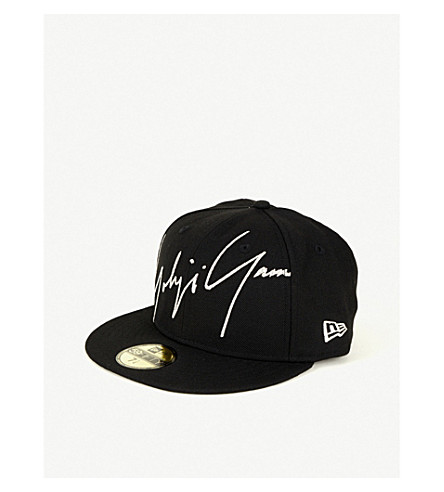 6d6103e7658 ... New Era logo-embroidered wool cap (Black. PreviousNext
