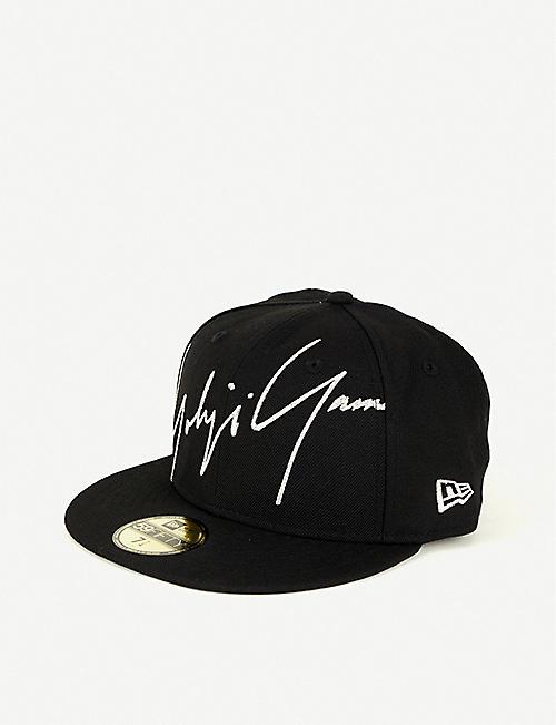 742654928e7 YOHJI YAMAMOTO New Era logo-embroidered wool cap