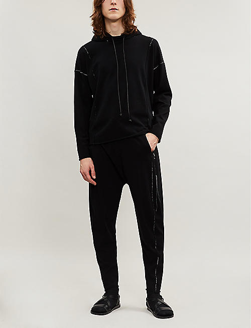 ISABEL BENENATO Signature jersey jogging bottoms