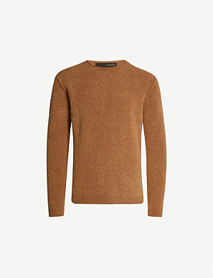 ISABEL BENENATO Merino wool-blend knitted jumper
