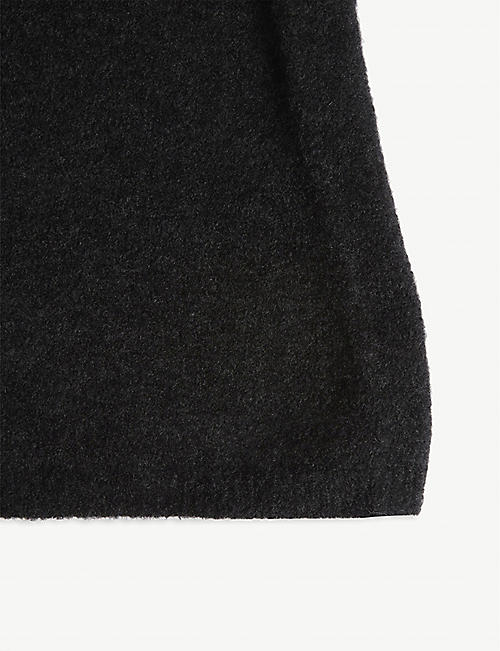 ISABEL BENENATO Yak wool snood