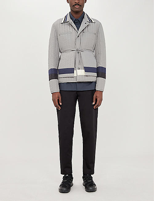 CRAIG GREEN Worker quilted shell jacket
