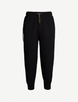 CRAIG GREEN Lace-up bonded-jersey jogging bottoms