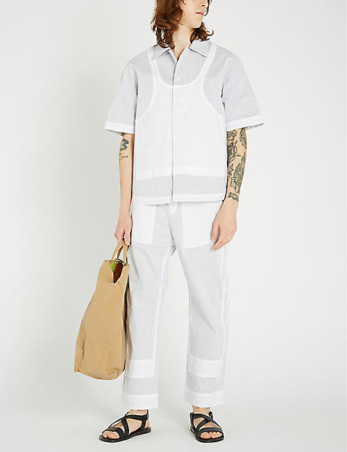 CRAIG GREEN Ghost casual-fit cotton shirt