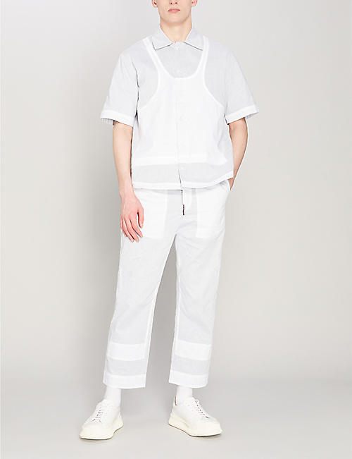 CRAIG GREEN Ghost cotton jogging bottoms