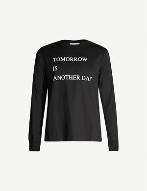 THE SOLOIST Tomorrow Is Another Day cotton-jersey top