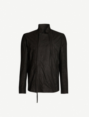 BORIS BIDJAN SABERI Skinny leather jacket