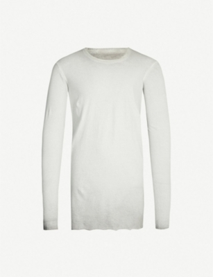 BORIS BIDJAN SABERI Crewneck cotton-jersey top
