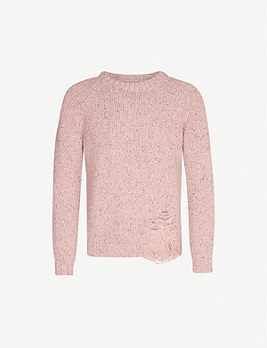 MAISON MARGIELA Laddered wool-blend jumper