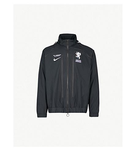 80f346eaaaa NIKE X OFF-WHITE - Logo-print shell track jacket | Selfridges.com