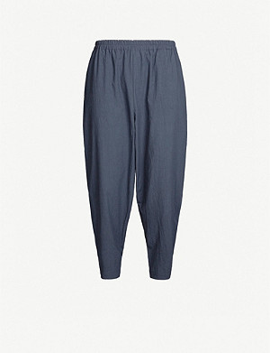 TOOGOOD Acrobat washed cotton trousers