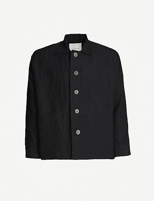 TOOGOOD The Engineer button-up linen jacket