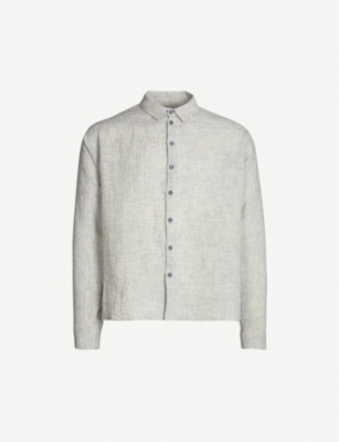 TOOGOOD The Gardener relaxed-fit linen shirt