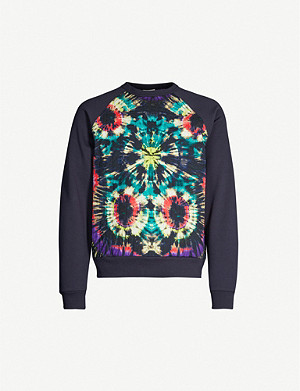 DRIES VAN NOTEN Tie-dye jersey sweatshirt