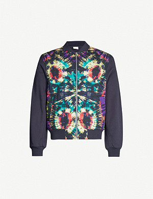 DRIES VAN NOTEN Tie-dye jersey jacket